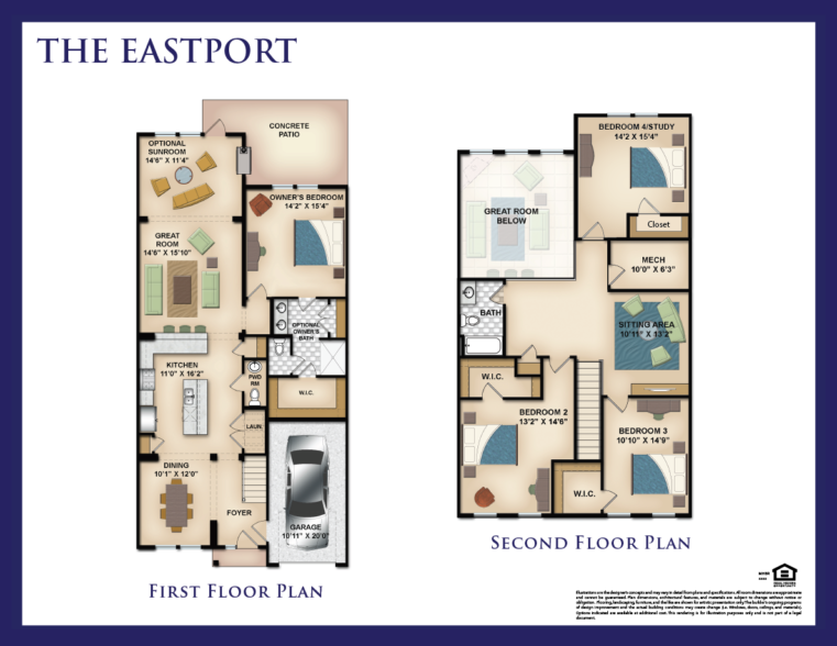 First Floor Master Suites Piccard Homes